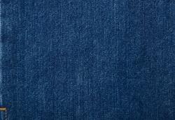 Detail of Blue Jeans denim texture.