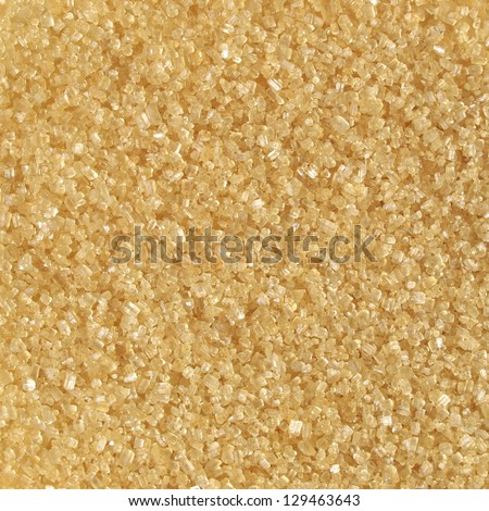 Detail of brown sugar crystals from sugar cane - useful as a background