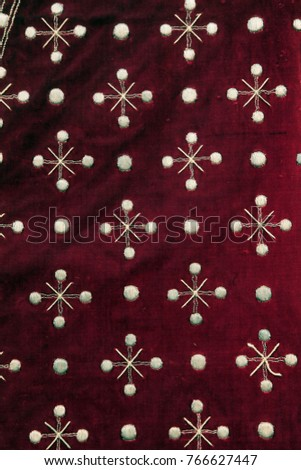 Detail of church vestments - Shutterstock ID 766627447