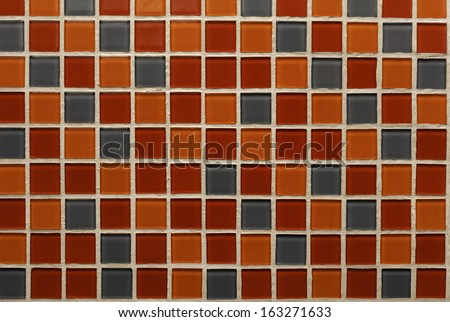 Detail Of Color Pattern And Texture Of Bathroom Ceramic Tile Wall ...
