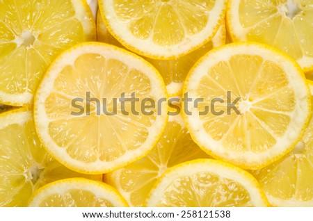 detail of lemon slices image