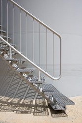 Detail of modern Stairs as an Contemporary Architectural Element