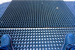 Detail of Non-slip rubber pad
