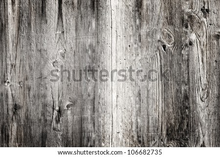 Detail of old wood panel