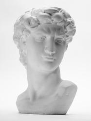Detail of replica of David