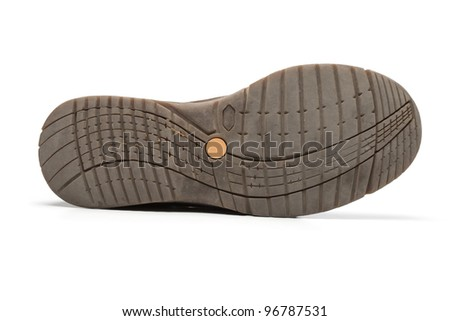 detail of shoe sole