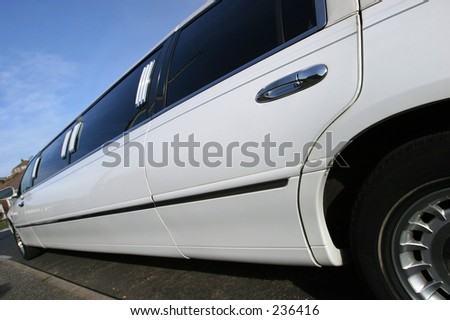Detail of Stretch Limo