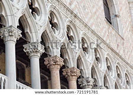 detail of the doge's palace...