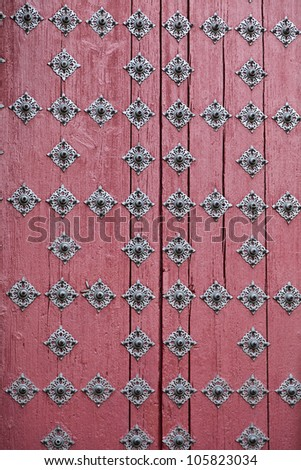 Detail of the main door of the New Cathedral (Catedral Nueva) in Salamanca, Spain