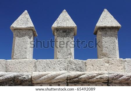 Detail of Torre de Belem, Lisbon