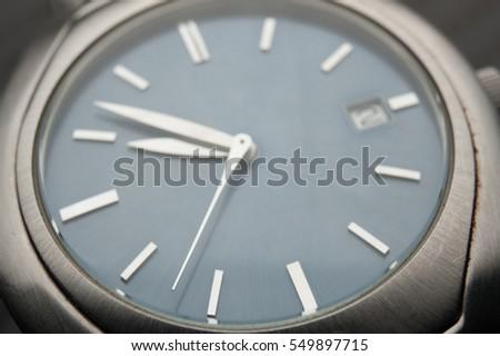 Detail of watch machinery. #549897715