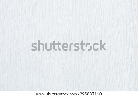 detail of  white crepe paper texture background