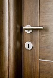 Detail of wooden door.