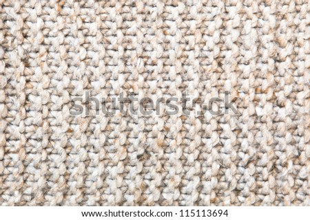Detail of woven wool as a background image
