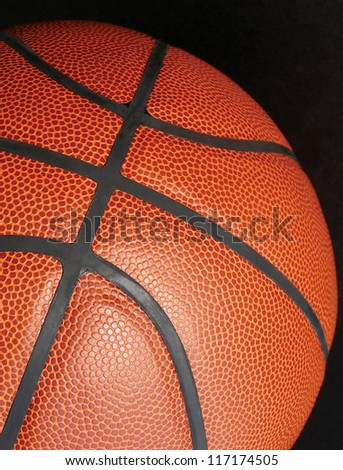 detail photography of color structured basketball  ball