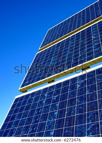 detail shot of solar panels - more images of solar cells in my portfolio