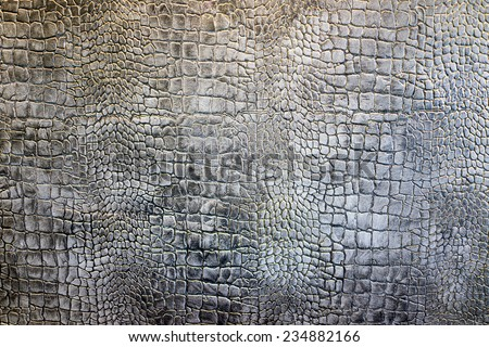 Detail wall plaster crocodile leather texture background