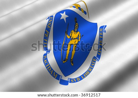 Pictures Of Massachusetts State Flag. US State of Massachusetts