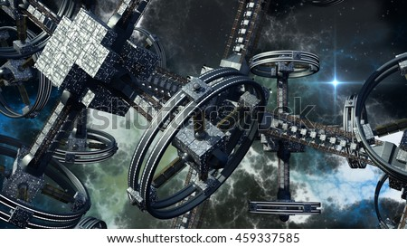 stock-photo-detailed-d-rendering-of-tech