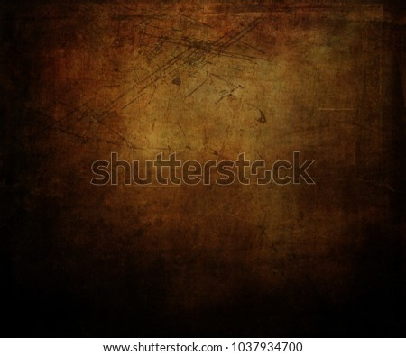 Detailed grunge background with splats and stains #1037934700