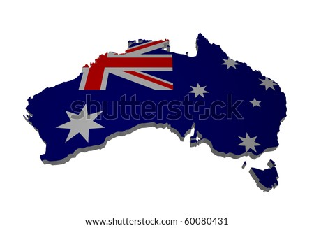 detailed map of australia