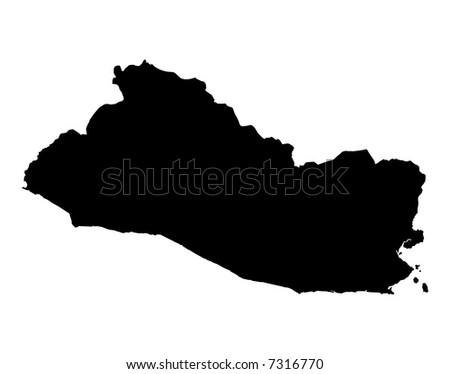 maps of el salvador. map of El Salvador,