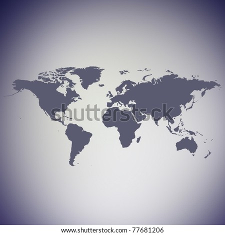 detailed map of the world