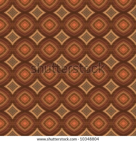 Copper Diamond Quilted Pattern