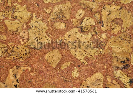 Detailed seamless cork board texture. This background photograph is useful for your brochure, flyer, and article about construction, ecology, recycle and any other related business.