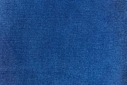 Detailed texture fabric denim background, Blue jeans.