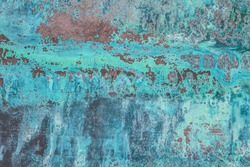 Detailed texture of copper oxide background