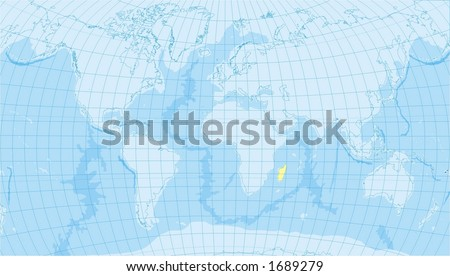 world map with countries and oceans. world map with countries,