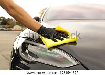 Detailing Car Clean Car Wash Tesla