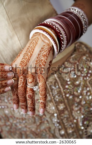 Details from a hindu wedding