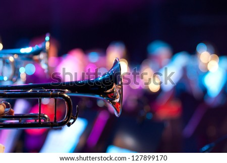 Details from a showband Сток-фото ©