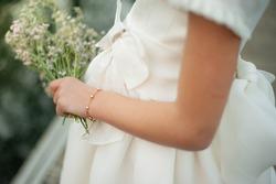 Details of catholic girl communion