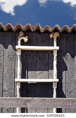 Details of fishing shed.