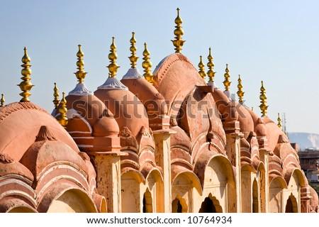 ( هوا محل ) قصر بالهند رائع stock-photo-details-