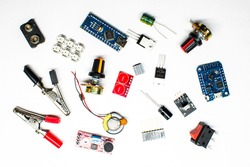 details of microelectronics and mounting devices