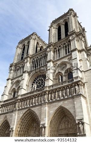 Details of Notre Dame de Paris