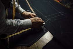 details of the working tailor