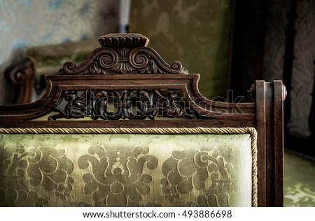 details of vintage furniture....