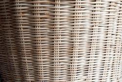 Details of wickerwork pattern made of rattan.