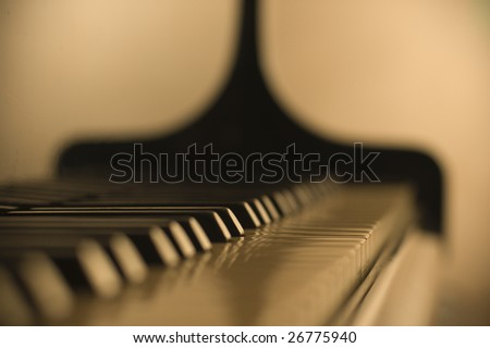 Details piano