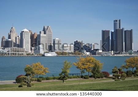 Detroit Skyline 2012