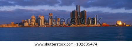 Detroit, Sunrise, Michigan