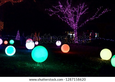 Detroit Zoo Christmas Lights.Shutterstock Puzzlepix