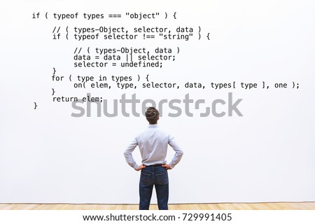 developer looking at the code...