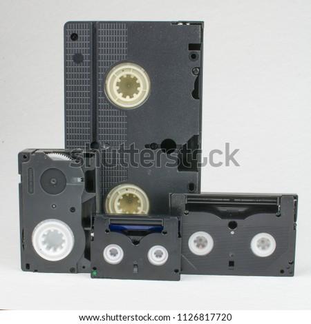 development of video cassettes from VHS to MiniDV #1126817720
