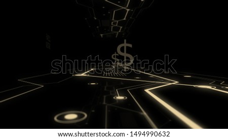 Development of worldwide business concept abstract background.